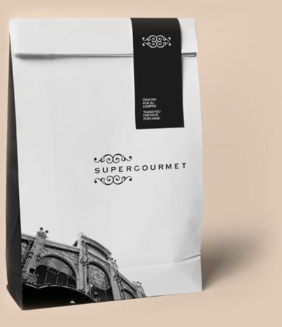 Diseño packaging gourmet envases
